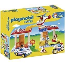 Playmobil 1.2.3. - Hospital de emergencia con seguridad (5046)