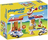 Playmobil 1.2.3. - Hospital de emergencia con seguridad (5046)