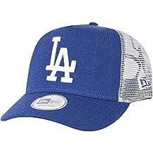 New Era Heather Team Trucker Losdod Hly - Gorra Línea Los Angeles Dodgers para Hombre, color azul, talla OSFA