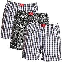 Jockey Boxer Shorts - Assorted Pack of 3 (Medium)