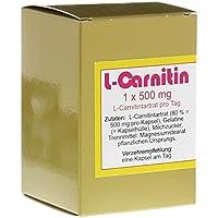 L-CARNITIN 1x500 mg Kapseln 45 St preisvergleich bei billige-tabletten.eu
