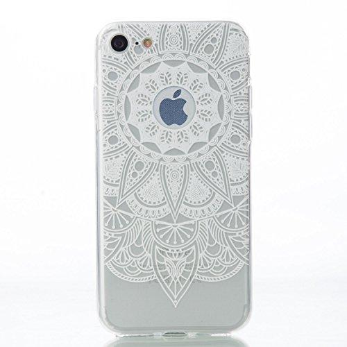 Pheant® Apple iPhone 7 (4.7 pouces) Coque Gel Étui Transparent Housse de Protection étui en TPU Silicone Cas Couleur-07