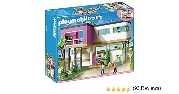 Playmobil 5574 Maison Moderne Amazon Fr Jeux Et Jouets