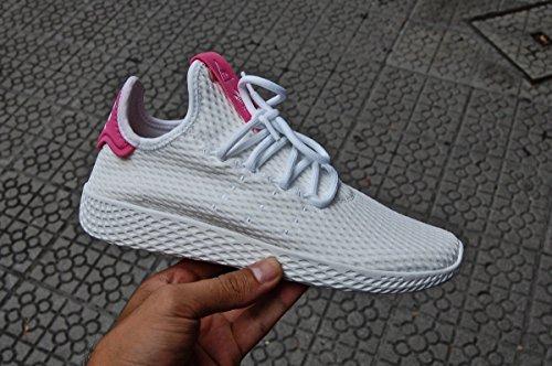 adidas PW Tennis hu, Chaussures de Sport Mixte Adulte multicolore (Ftwbla / Ftwbla / Seroso)