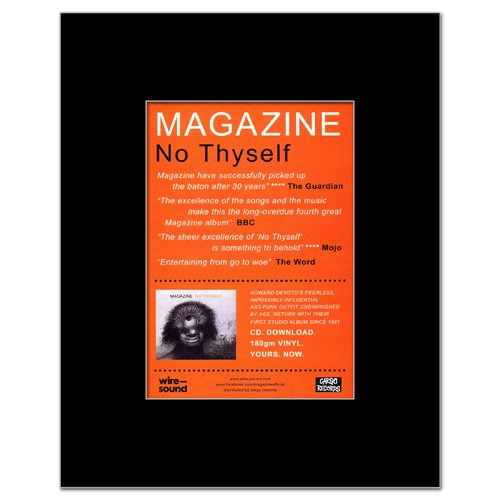 MAGAZINE - No Thyself Reviews Matted Mini Poster - 13.5x10cm (No Thyself Magazine)