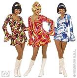 Produkt-Bild: Widmann 70er Jahre Minikleid Hippie