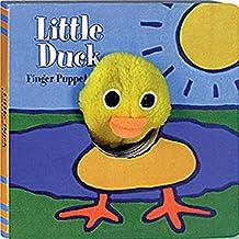 Little Duck: Finger Puppet Book (Finger Puppet Brd Bks)