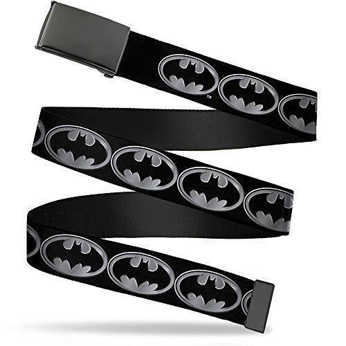 Buckle Down Herren Web Belt Batman 1.25