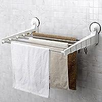 XXTT-Elegante, minimalista, porta asciugamani, cupule in acciaio inox-potente, scalabile, non perforata parete