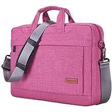 Bolsa de Hombro Compatible 14-15 Pulgadas MacBook Air/Pro/Surface, Poliéster