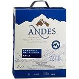 Andes Cabernet Sauvignon Chile Qualitätswein (1 x 3 l)