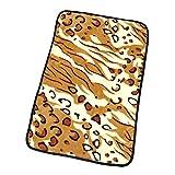 HOOPET® Kuscheldecken f. Hunde Katzen Super Weich 76x52CM S Tiger-Muster