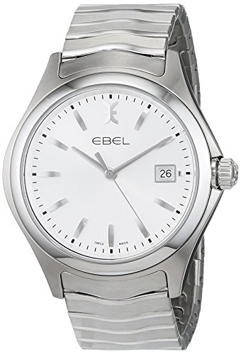 Ebel Mens Analogue Classic Quartz Watch with Stainless Steel Strap 1216200