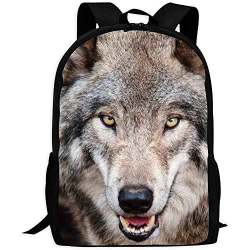 Precious Meet Animal School Bag Wolf Mochila Personalizada Cute Cool Kids