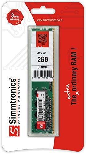 Simmtronics 2gb Ddr2 667 Mhz Desktop Ram