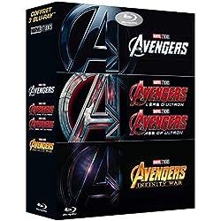 Avengers + Avengers : L'ère d'Ultron + Avengers : Infinity War [Blu-ray]