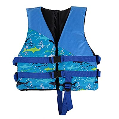 Docooler Children Kids Life Jacket Buoyancy Aid Flotation Device Boating Surfing Work Vest Clothing Swimming Life Jackets Safety Survival Suit Outdoor Water Sport Swimming Drifting Fishing from Docooler