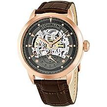 Stuhrling Original Executive - Reloj para hombre color gris / marrón