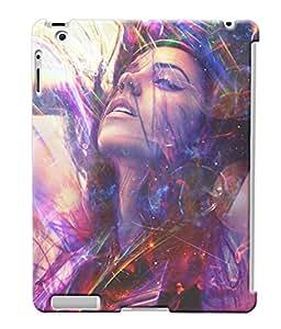 Fuson Dance Girl Back Case Cover for APPLE IPAD 2 - D3753