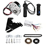 C-FUNN 24V 250W Kit Controller Motore di Conversione Bici Elettrica per Bici Ordinaria da 20-28 Pollici