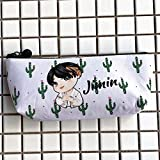 Climberty BTS Pencil Bag School Stationery Supplies Pencil Case Cloth Pencil Pouch For BTS Fans (Style 7)