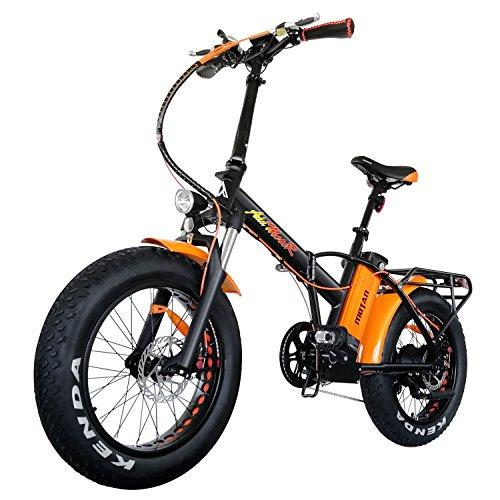 Addmotor Motan Elektrofahrrad zusammenklappbar 750W Fat Tire Vorderradaufhängung 48V 11.6 Ah Lithium-Akku Mountain Snow Beach elektrisches Fahrrad M-150 P7 E-Bike 2018 Für Erwachsene