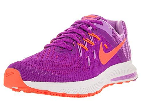 Nike Zoom Winflo, Running Femme vvd prpl/hypr orng fchs glw wh