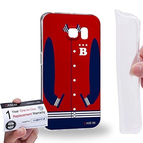 Case88 [Samsung Galaxy S6 Edge] Custodia/Cover Gel/TPU/Prottetiva