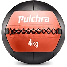 PULCHRA Soft Medicine Ball (8 Colours) Leather Medical Slam Weight Wall Ball Fitness Training