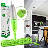 ANSIO Spray Floor Mop with Microfiber Pad *** Lifetime Replacement Guarantee*** (Machine Washable)
