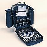 Picknickrucksack Freizeitrucksack Rucksack gefüllt für 4 Personen Nr. 020