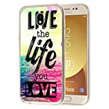 deinPhone Samsung Galaxy J3 (2017) Silikon Case Live the life you love