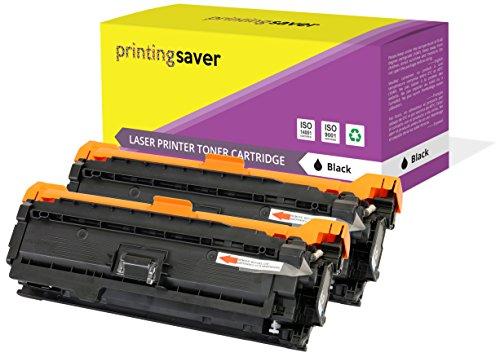 Preisvergleich Produktbild Printing Saver 2 Schwarz Premium Toner kompatibel zu CE400A (507A) für HP LaserJet Enterprise 500 M551n M551d M551dn M551x M551xh MFP M570dw M575c M575dn M575f
