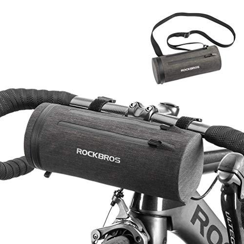 ROCKBROS Bolsa de Manillar Cuadro Cesta Impermeable Ciclismo Bolsa de Hombro Portátil para Bicicletas...