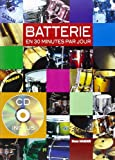 Maugain Manu La Batterie En 30 Minutes Par Jour Drums Book/Cd French