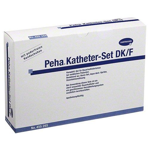 Preisvergleich Produktbild PEHA KATHETER Set DK / F (f.Fr 1 St Kombipackung