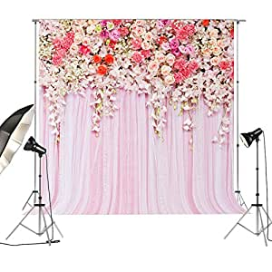 SEAMLESS vinile floreale fondale per matrimonio foto fotografia dessert doccia tavolo decori photo booth Photocall background-20180804, FD-9192, 200x200cm