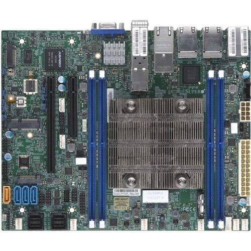 Supermicro Motherboard MBD-X11SDV-4C-TP8F-O Xeon D-2123IT 4 Cores / 8 Threads 256 GB PCIE Flex ATX Retail -