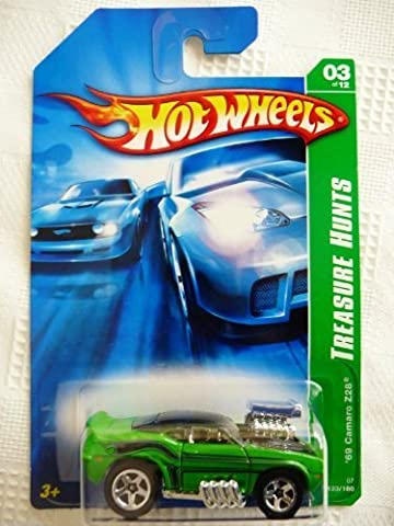 2007 Hot Wheels Treasure Hunt 3/12 - '69 Camaro Z/28 by Mattel