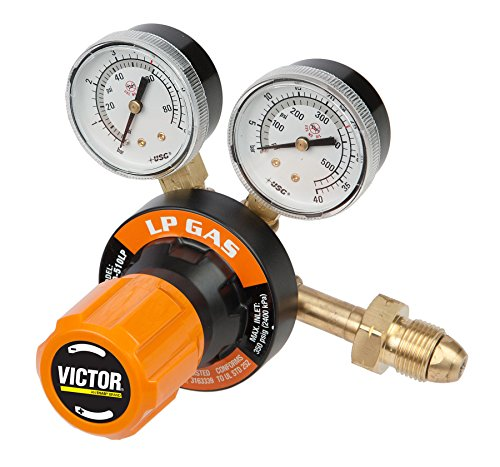 Victor 0781-9422 Heavy Duty G350 LP Gas Regulator by Victor -