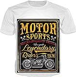 100ANB - MOTOR SPORTS - THE UNITED STATES OF AMERICA NEW YORK NYK - LEGENDARY RIDERS 1976 - RACER SPEED (2 - 36) - MOTOR BIKER RIDER SPORTS BIKE MOTO
