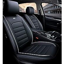 Cubierta del asiento del automóvil, parte delantera trasera Juego completo de 5 asientos Protectores de