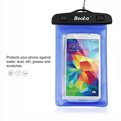 becko-blue-waterproof-case-touch-responsive-front-and-back-universal-waterproof-wallet-dry-bag-pouch