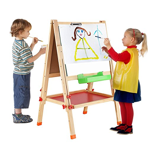 battop-two-sided-height-adjustable-drawing-easel-folding-blackboard-with-magnetic-alphabets-and-numb