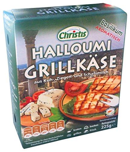 Greco - Halloumi Basilikum Grillkäse - 225g