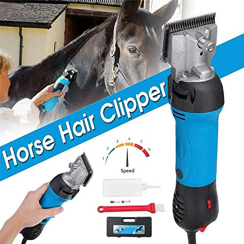 CHEIRS Professionelle Pferde Haarschneider Schermaschine Pferde Leise Tierhaarschneider Haarschneidemaschine Schermaschine Grooming Clippers