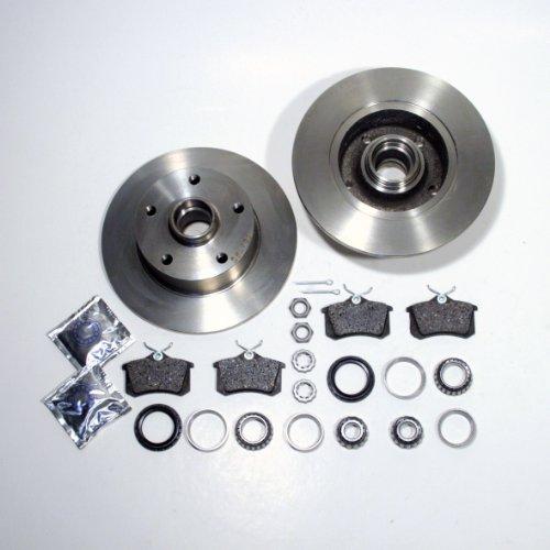 Preisvergleich Produktbild Bremsscheiben Ø 245 mm / Bremsen + Bremsbeläge + Radlager hinten