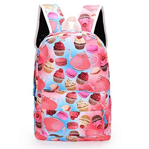Zaino scuola media superiore casual - beautyjourney zaini per scuola ragazza ragazzi tumblr medie superiore backpack - moda neutral canvas spalla borsa scuola zaino viaggio