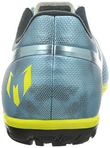 adidas Messi 15.3 TF Herren Fußballschuhe Multicolor (Matte Ice Metallic/Bright Yellow/Black)