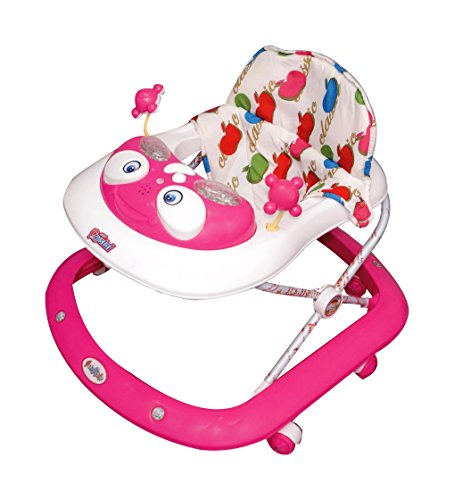 Ehomekart Funride Multicolour Kid'S Musical Crystal Activity Walker Height Adjustable 9 Months + Baby - Wide Base
